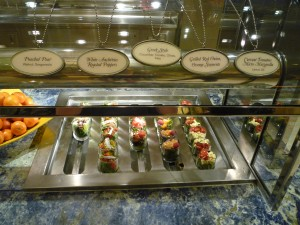 Wynn Buffet: pre-made salads