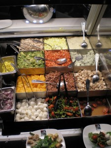 Treasure Island Dishes Buffet: Made to order Salads