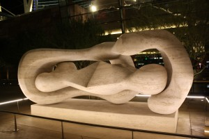 """Reclining Connected Forms"" Henry Moore"