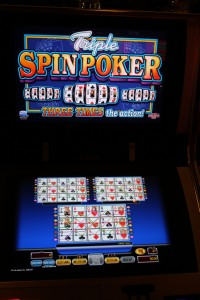 Triple Spin Video Poker