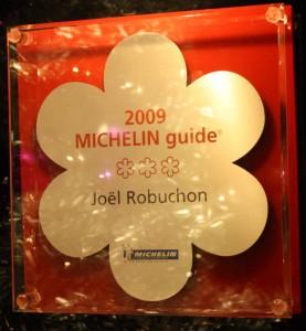 Joel Robuchon's Michelin Stars
