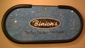 "Binion's ""The Place That Made Poker Famous"""
