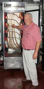 Joe Pickett Brewmaster at Ellis Island Brewery