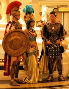 Caesars Palace Greeters