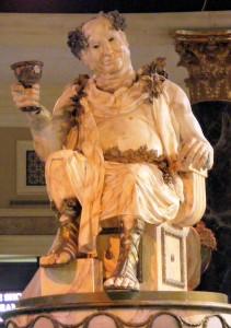 Caesars Palace Forum Shops: Bacchus Statue