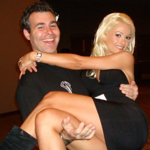 Steve Friess and Holly Madison